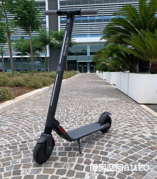 Monopattino elettrico Mercedes Ninebot by Segway