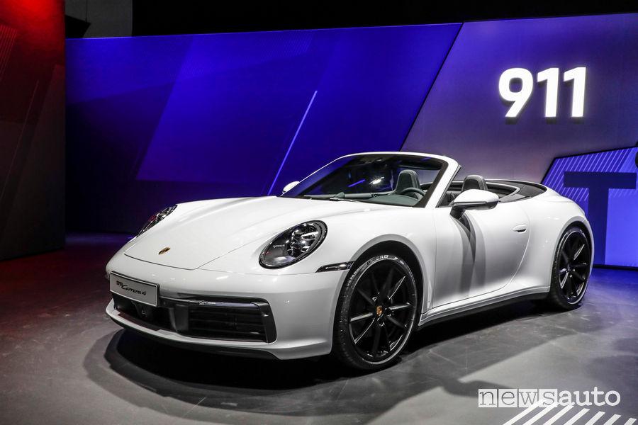 Porsche Carrera 4 Coupé al Salone di Francoforte 2019