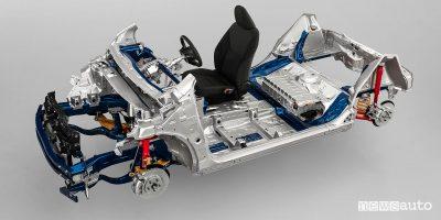 Nuova Toyota Yaris 2020 piattaforma TNGA GA-B