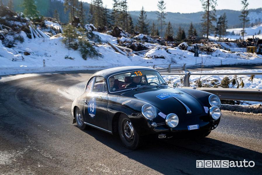 Porsche 356 C 1963 Winter Marathon 2019