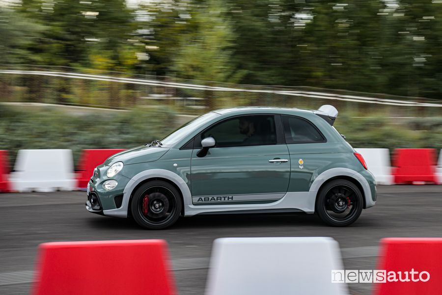 Abarth 695 70° Anniversario all'Abarth Day 2019 al MIND di Milano