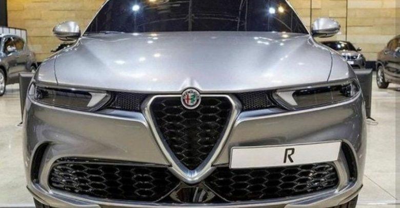 Frontale, mascherina e paraurti anteriore Alfa Romeo Tonale