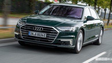 Audi A8 ibrida plug-in