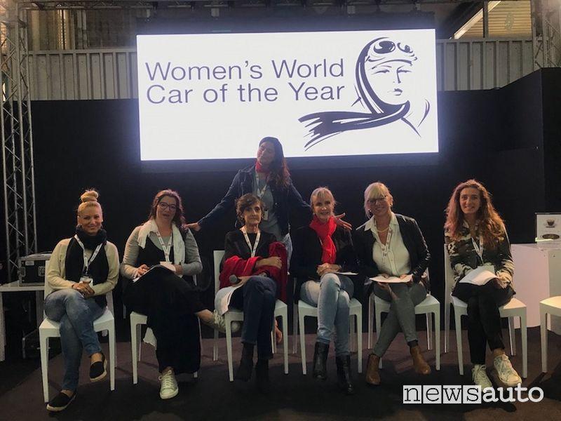 Giurate Women's World Car of the Year Carrara 4x4 Fest 2019