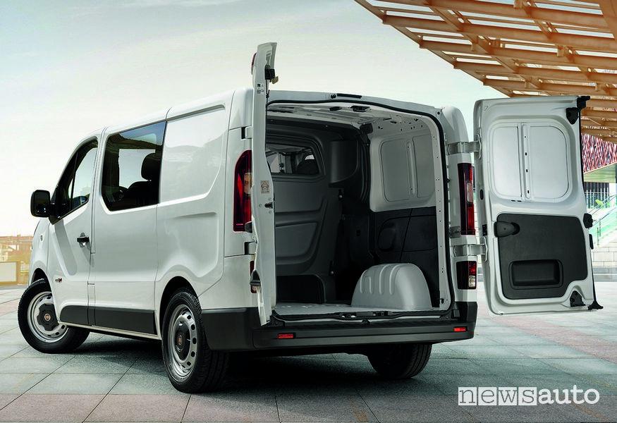 Vano carico Fiat Talento furgone