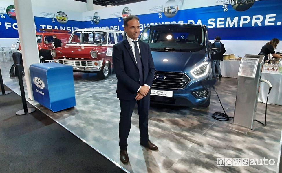 Marco Buraglio, Direttore vendite veicoli commerciali Ford Italia ad Auto e Moto d'Epoca 2019