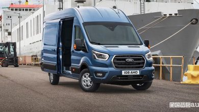 Photo of Ford Transit, veicolo commerciale con motore mild hybrid