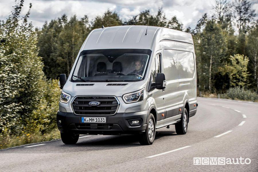Frontale, fari anteriori Ford Transit Van