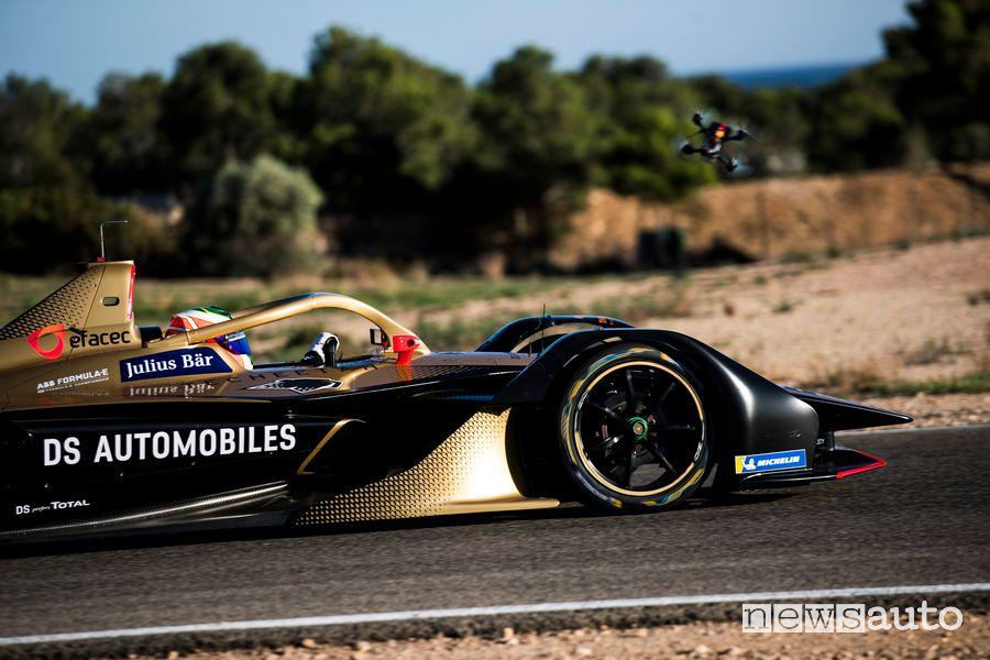 Vista laterale, Halo DS E-Tense 2020 Formula E 2020