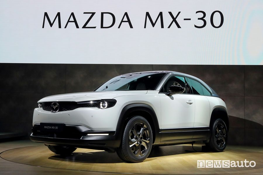 Mazda MX-30 elettrica al Salone di Tokyo 2019