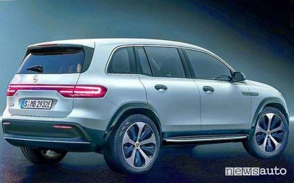 Foto SUV elettrico Mercedes EQB