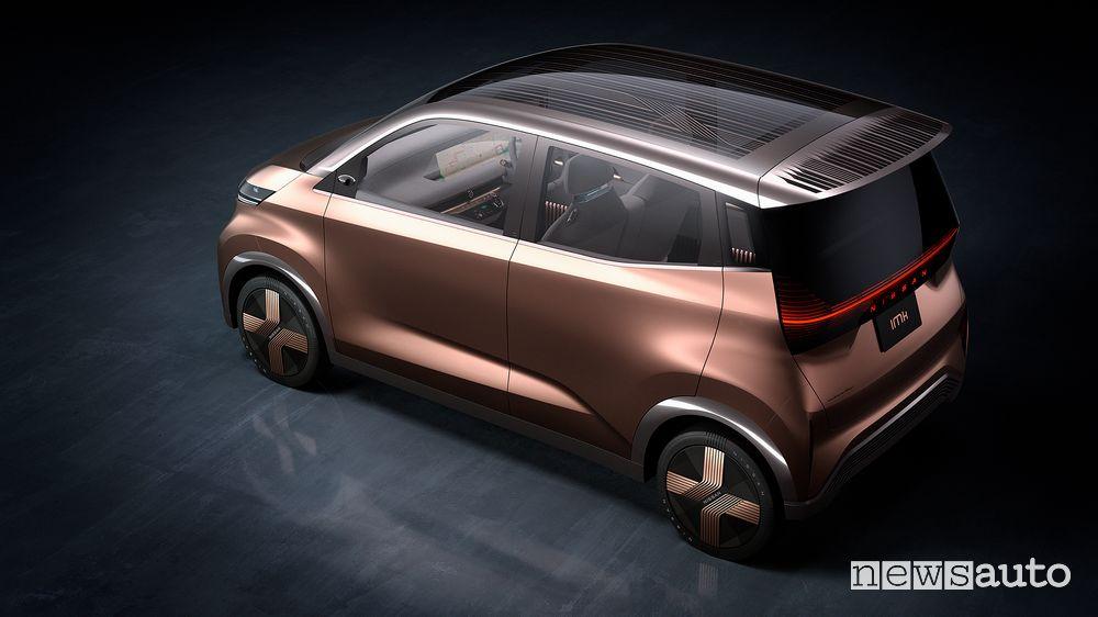 Tetto, vista dall'alto Nissan concept IMk