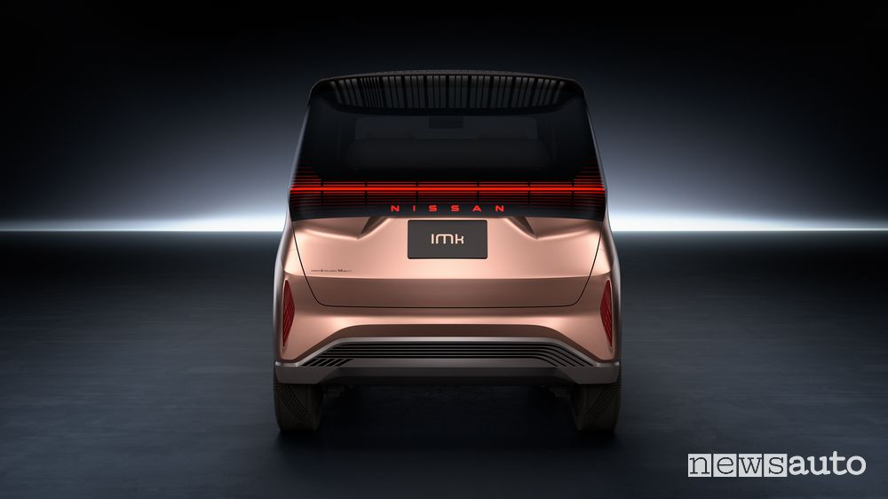 Posteriore Nissan concept IMk