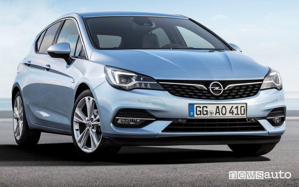 Mascherina anteriore Opel Astra 2020
