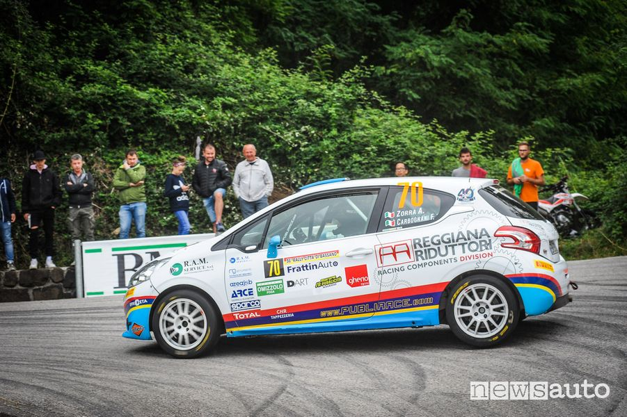 Alessandro Zorra Peugeot Competition 208 Rally Cup PRO