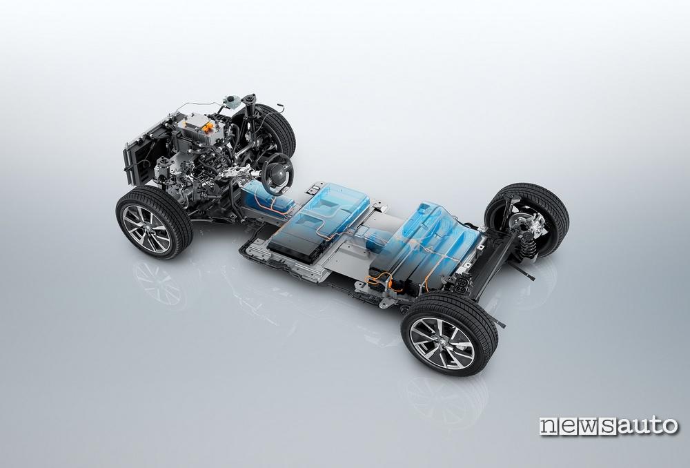 batteria al litio Peugeot e-208 2020
