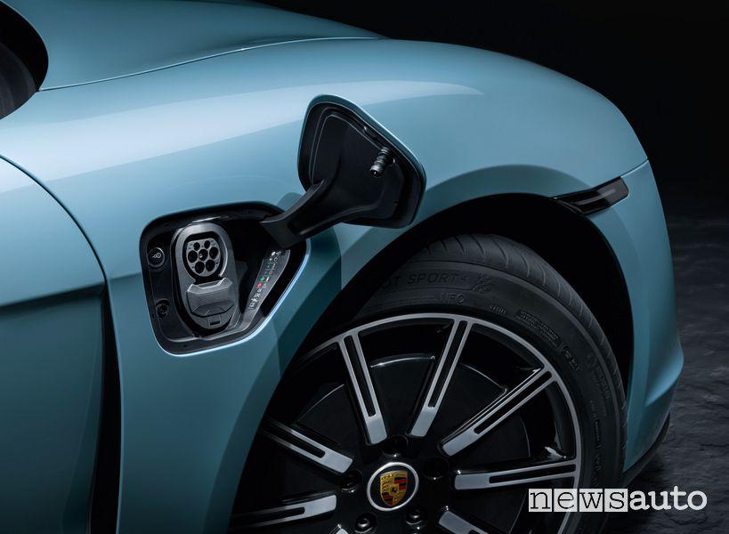 Vano, presa di ricarica Porsche Taycan 4S