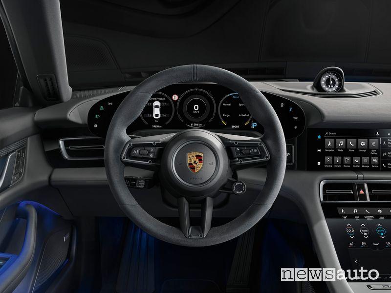 Volante abitacolo Porsche Taycan 4S