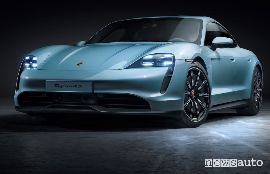 Fari anteriori Porsche Taycan 4S