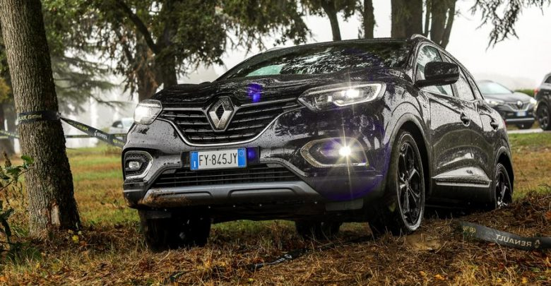 Renault Kadjar 4x4 Black Edition prova in off road