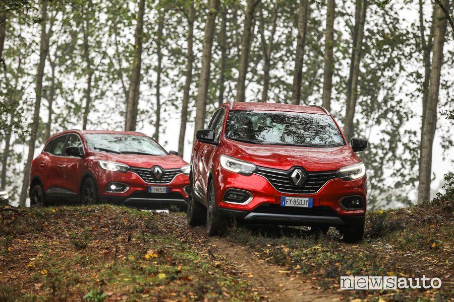Renault Kadjar 4x4 prova in off road