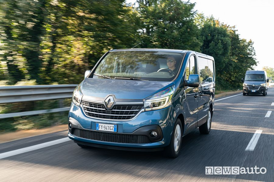 Renault Trafic 2020, veicolo commerciale Renault