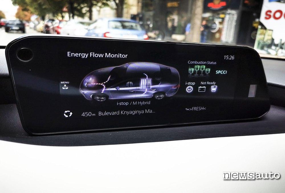 modalità SPCCI Mazda3 Skyactiv-X