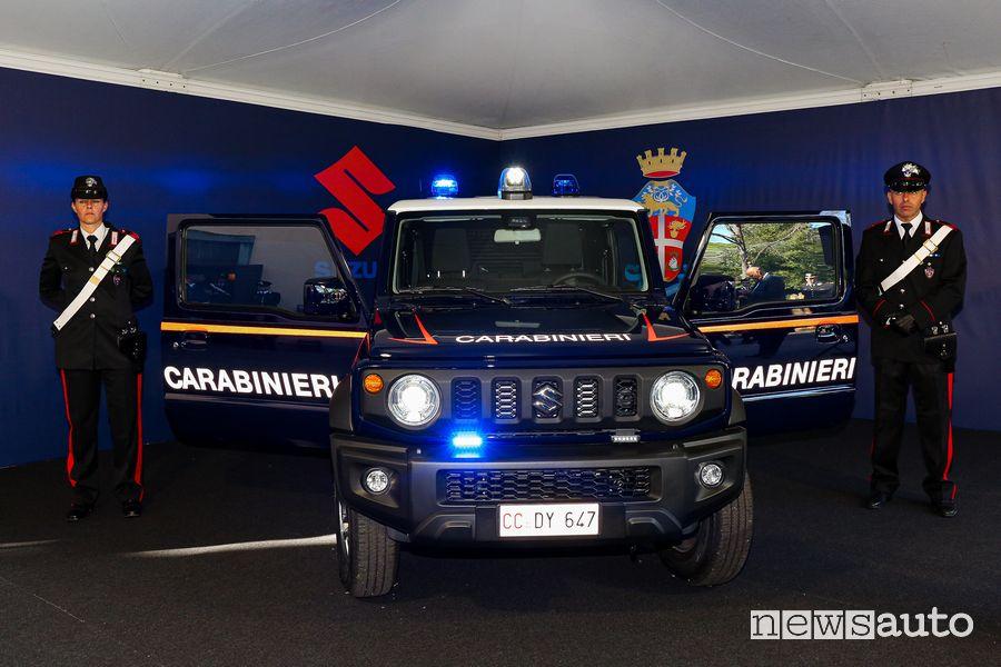 Lampeggianti, sirena Suzuki Jimny Carabinieri