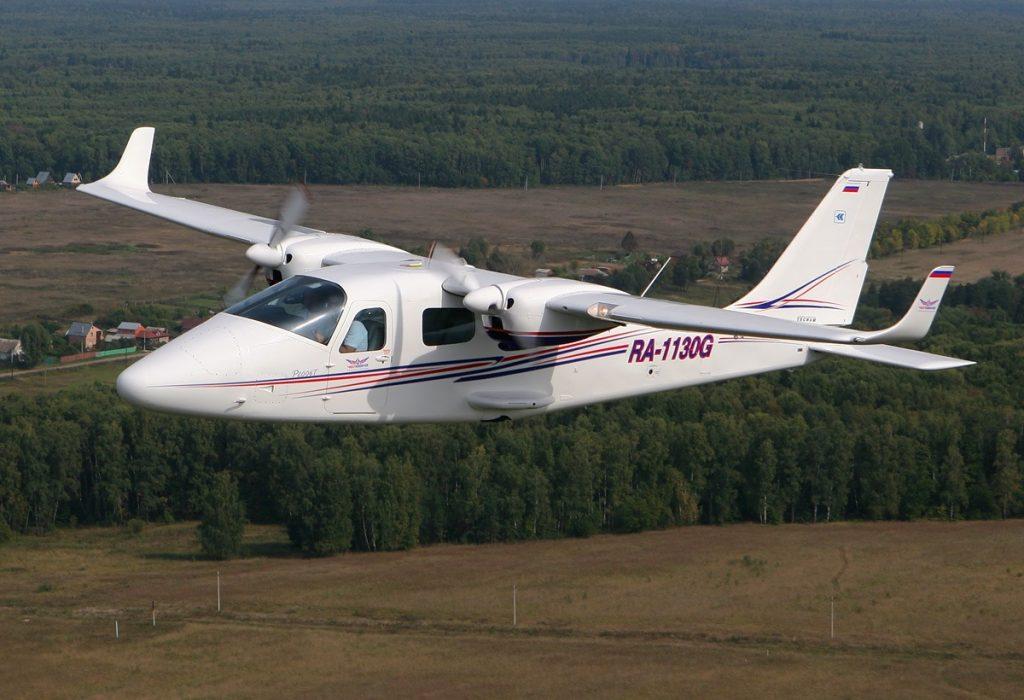 Aereo elettrico Tecnam P2006T su cui si basa l' x-57 Maxwell Mod II