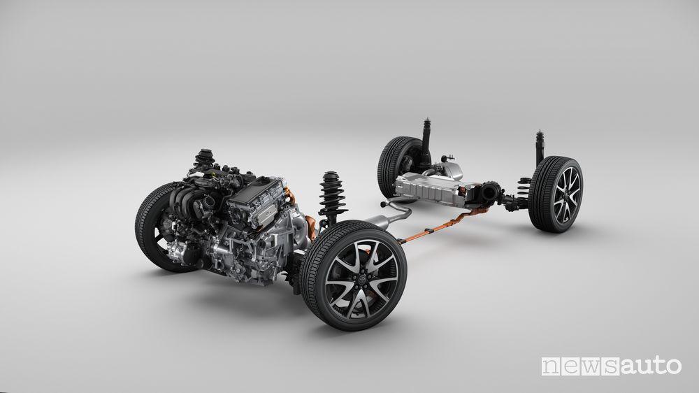 Sistema ibrido di 4^ generazione Toyota Yaris 2020