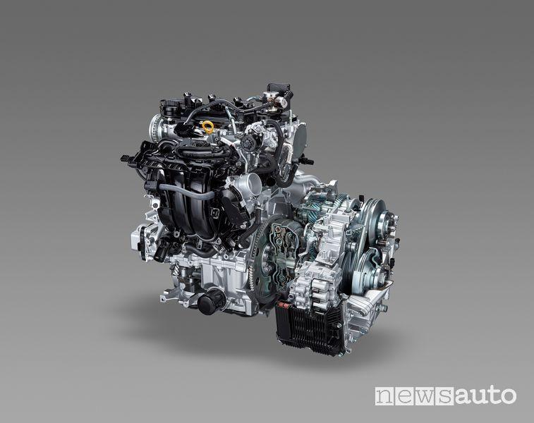Motore ibrido Toyota di 4^ generazione Toyota Yaris Cross