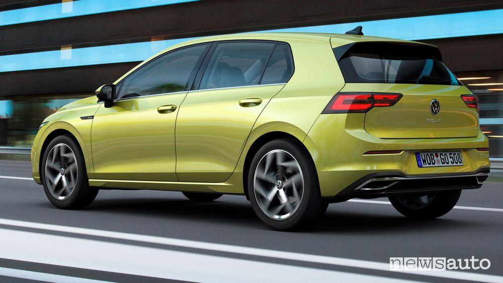 Fiancata laterale Volkswagen Golf 8 2020
