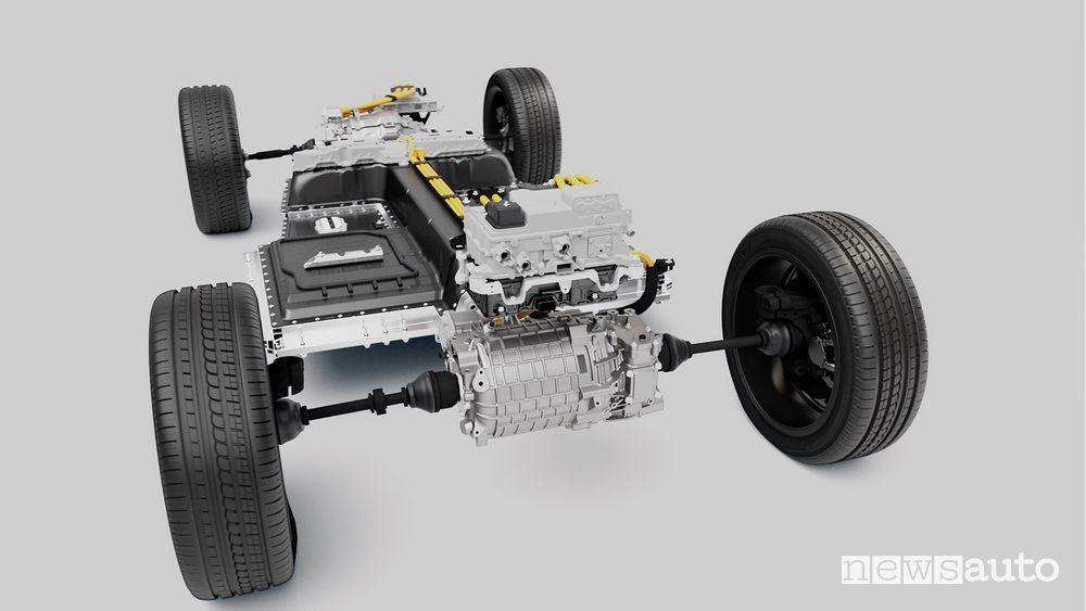 Doppio motore elettrico Volvo XC40 elettrica