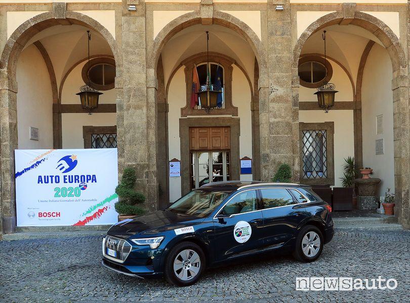Audi e-tron premio Green Gold Award Auto Europa 2020