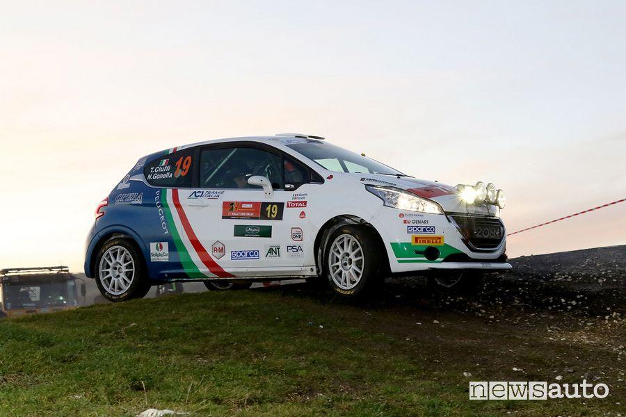 Peugeot 208 R2 con Tommaso Ciuffi Campione italiano Rally Due Motrici