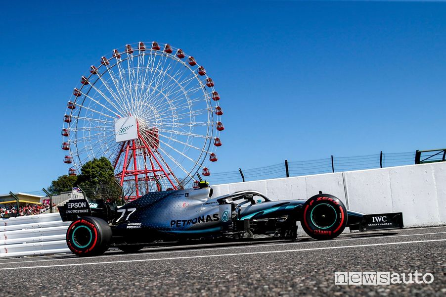 F1 Gp del Giappone 2019 Mercedes Valterri Bottas