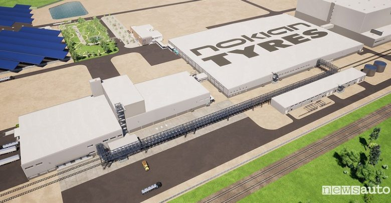 Pneumatici Nokian, nuova fabbrica negli Stati Uniti