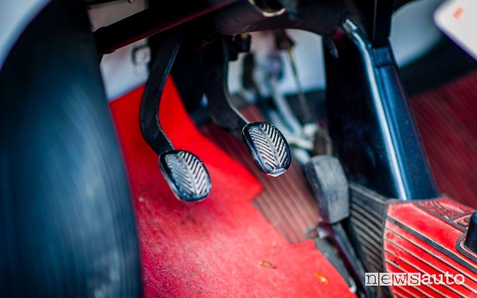 Pedale freno Fiat 500 storica