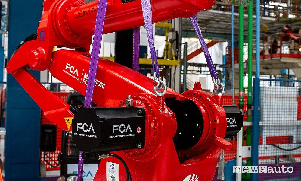 Mirafiori Battery Hub auto elettriche Fiat e FCA