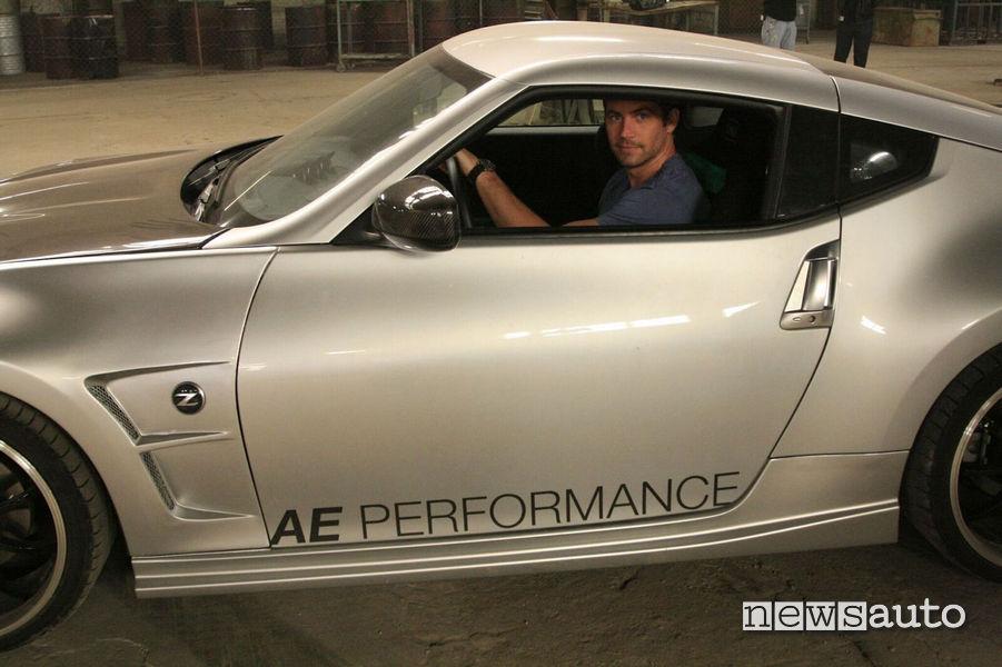 Nissan 370Z apparsa nel quinto capitolo della saga Fast and Furious, collezione Paul Walker