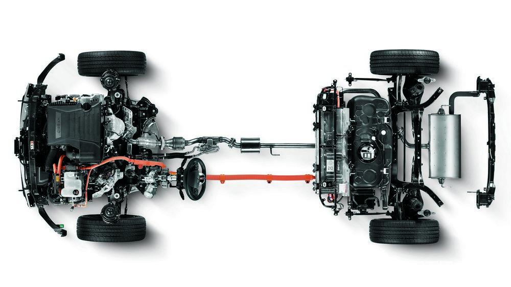 Il sistema ibrido plug-in della Kia con batteria agli ioni di litio ricaricabile  anche dalla presa di corrente