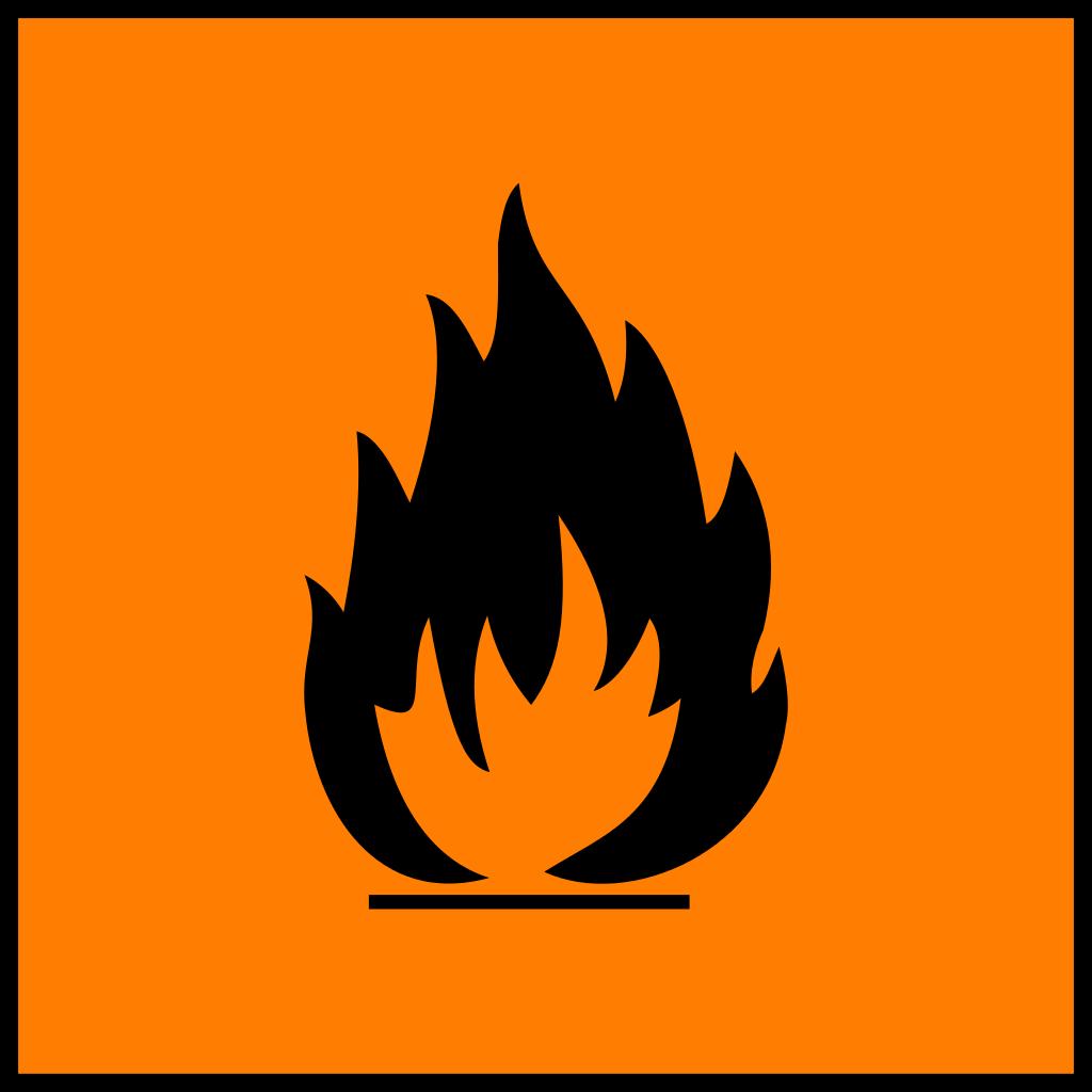 Pericolo incendio materiali infiammabili