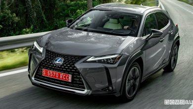 Lexus UX 250h gamma e prezzi