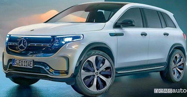 Mercedes EQB SUV elettrico