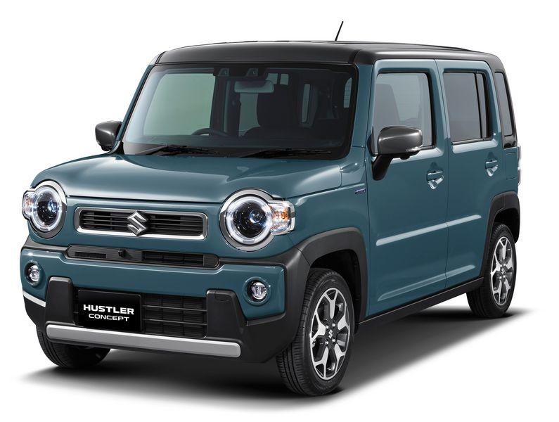 Frontale, fari anteriori Suzuki Hustler Concept