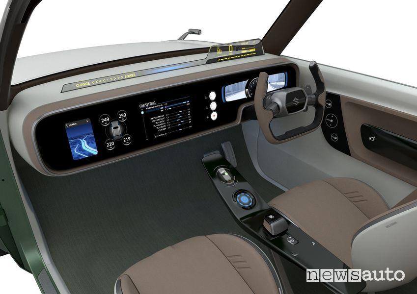 Abitacolo concept Suzuki Waku Spo ibrido plug-in
