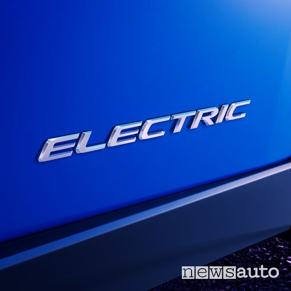 Badge Electric prima auto elettrica Lexus