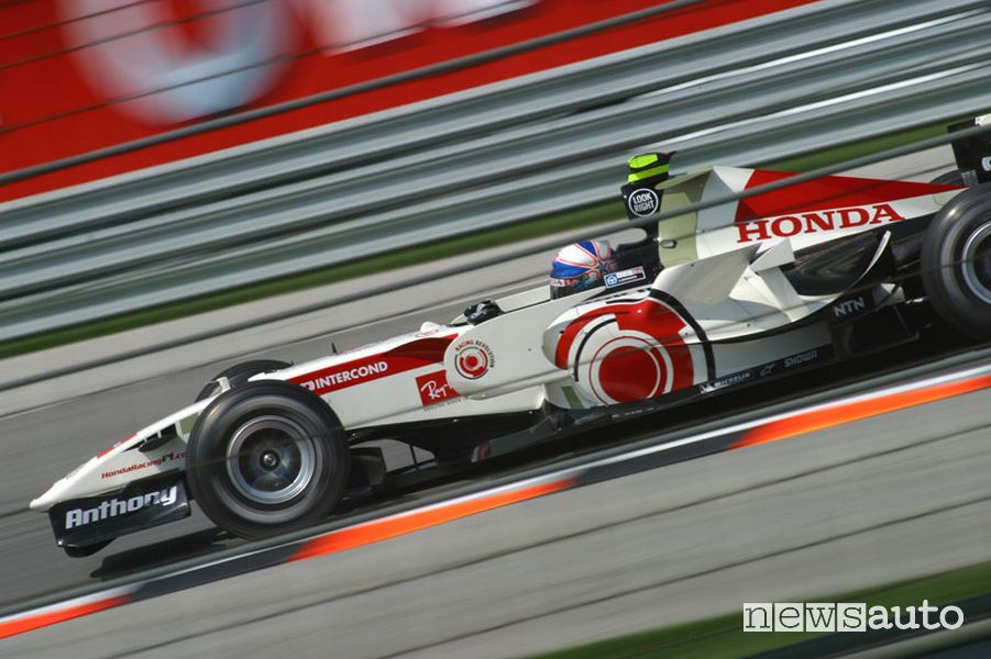Anthony Davidson Honda RA 106-02 F1 record auto Vallelunga