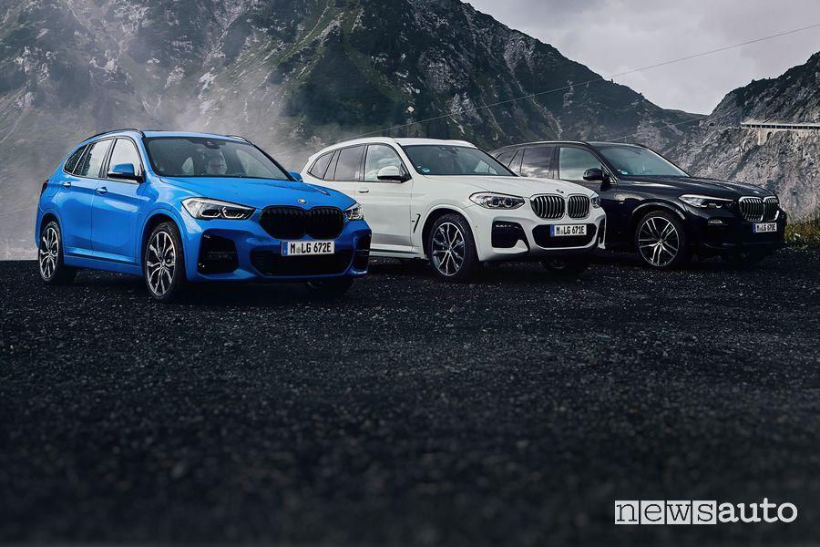 Gamma BMW X3 xDrive 30e ibrida plug-in