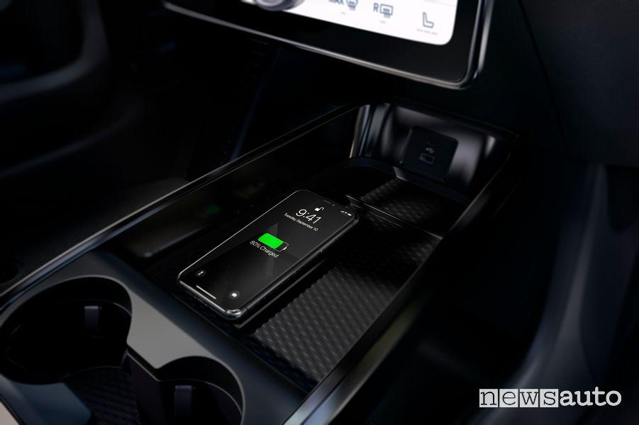 Ricarica smartphone wireless Ford Mustang Mach-E